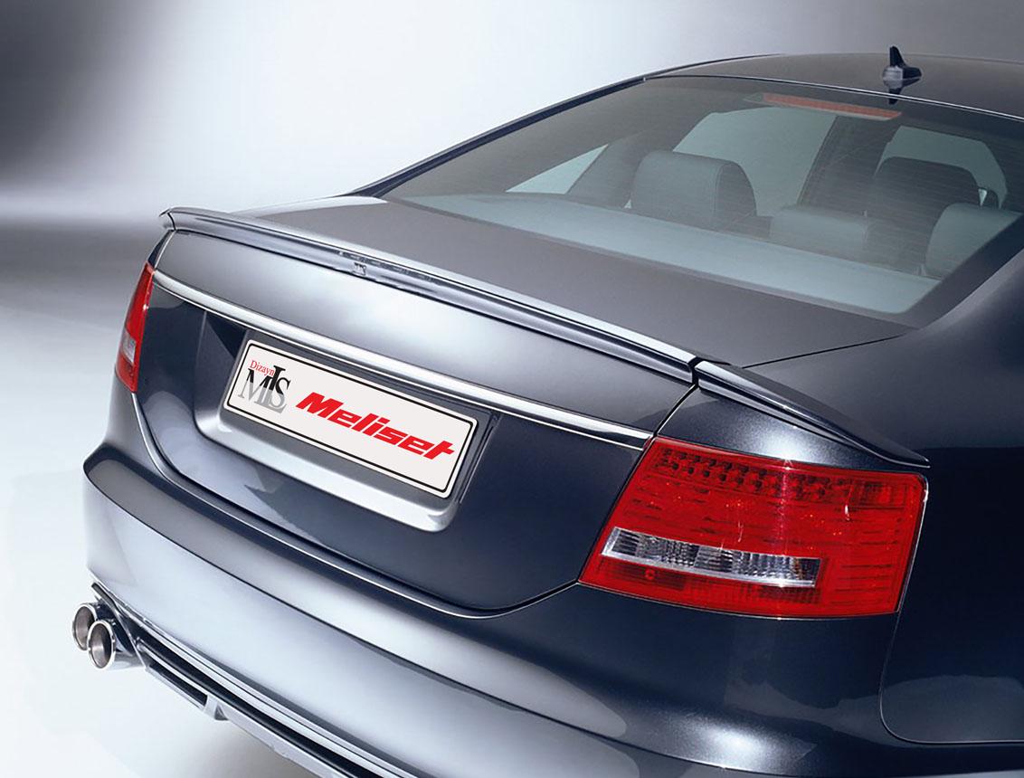 Audi A6 SD.  Spoiler 3 Parça 4 Kapı 2008-2011
