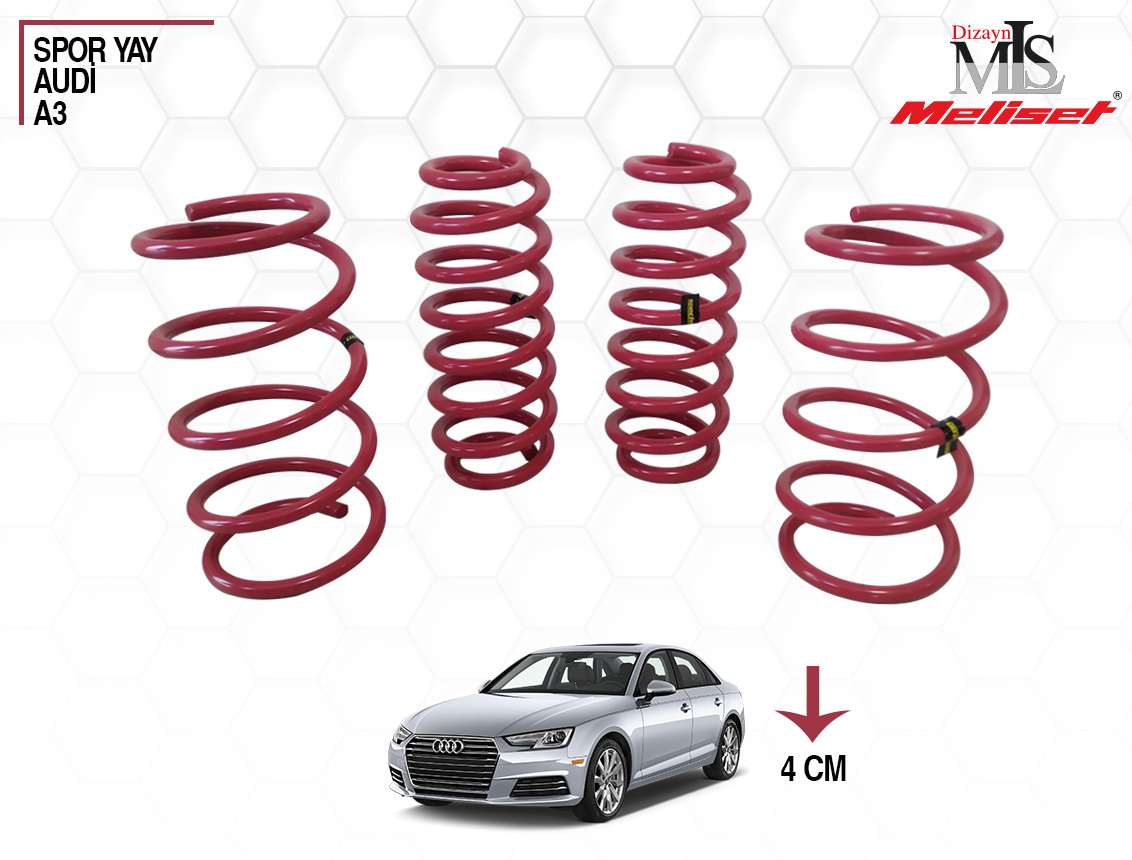 Audi A3 Spor Yay Helezon 40mm İndirme