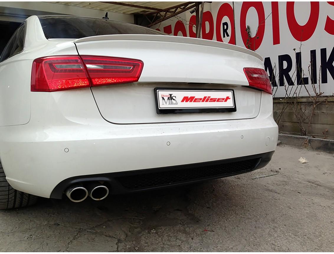 Audi A6 Sedan Anatomik Spoiler 2012- Sonrası Yıllara Uyumludur
