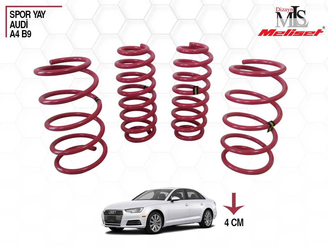 Audi A4 B9 Spor Yay Helezon 40mm İndirme