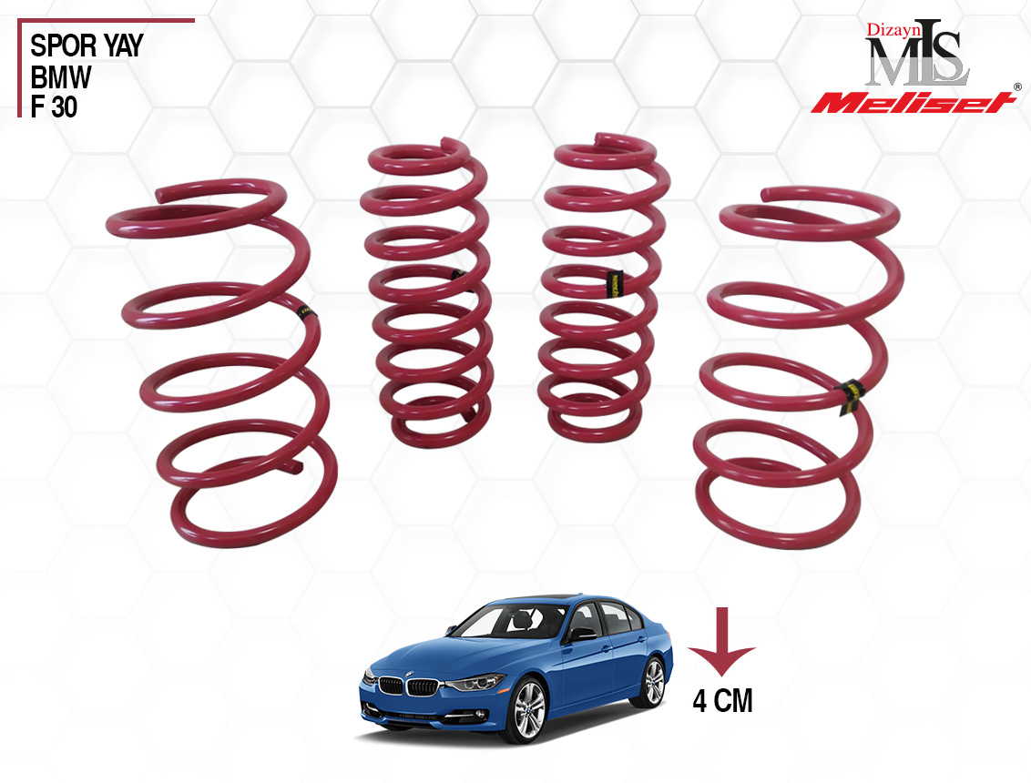 Bmw F30 Spor Yay Helezon 40mm İndirme