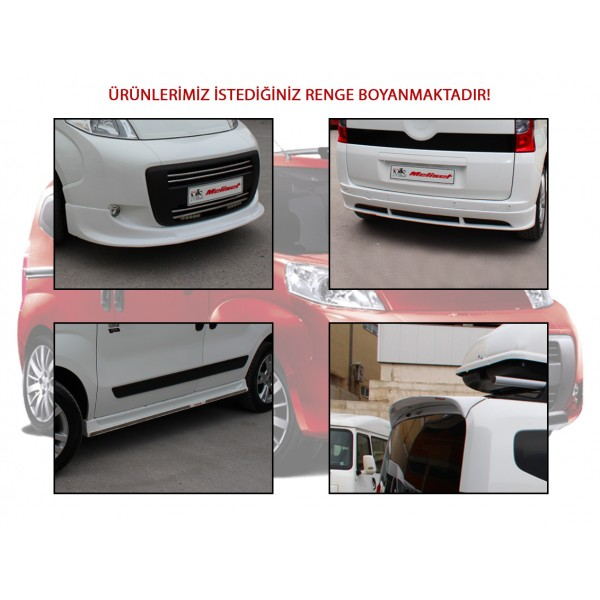 Meliset Fiat Fiorino Body Kit Set 2008 ve Sonrası