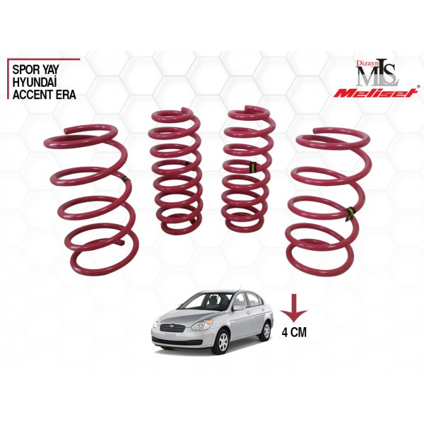 Hyundai Accent Era Spor Yay Helezon 40mm İndirme