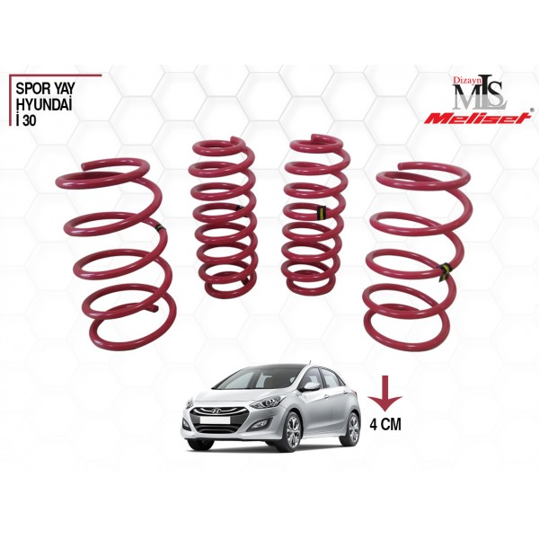 Hyundai İ30 Spor Yay Helezon 40mm İndirme