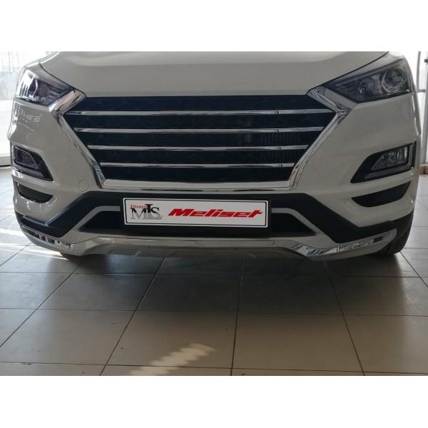 Hyundai Tucson Ön Arka Tampon Koruma Difüzör (Plastik) 2018 ve sonrasına uyumlu