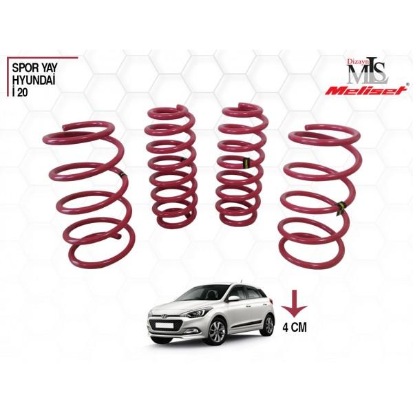 Hyundai İ20 Yay Helezon 40mm İndirme 2015 ve sonrası