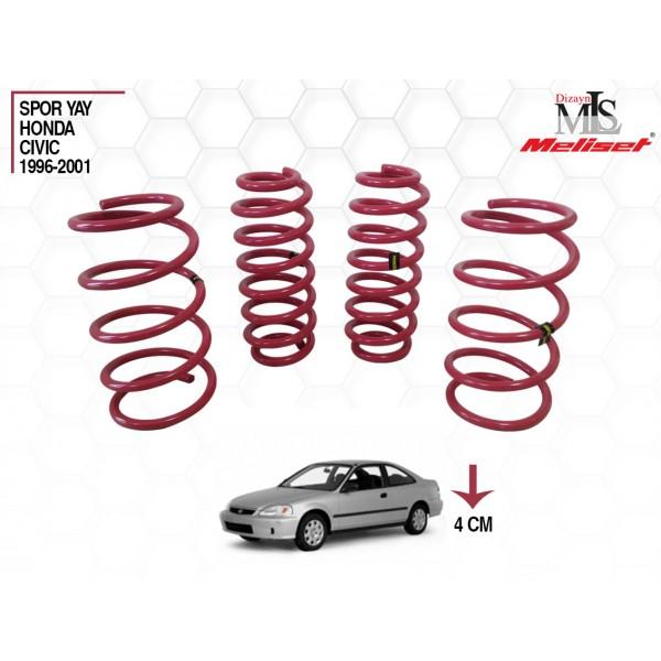 Honda Civic Yay Helezon 40mm İndirme 1996-2001 Yılları Arasına Uyumlu