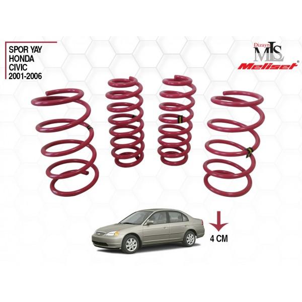Honda Civic Yay Helezon 40mm İndirme 2001-2006 Yılları Arasına Uyumlu
