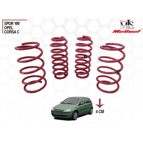 Opel Corsa C Spor Yay Helezon 40mm İndirme