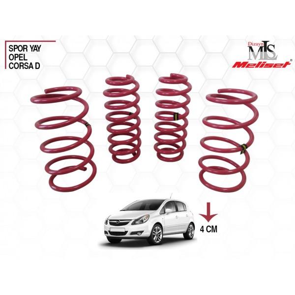 Opel Corsa D Spor Yay Helezon 40mm İndirme