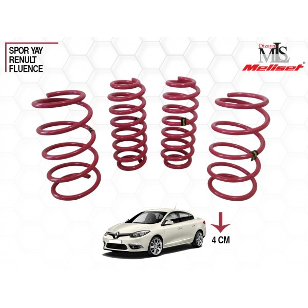 Renault Fluence Spor Yay Helezon 40mm İndirme