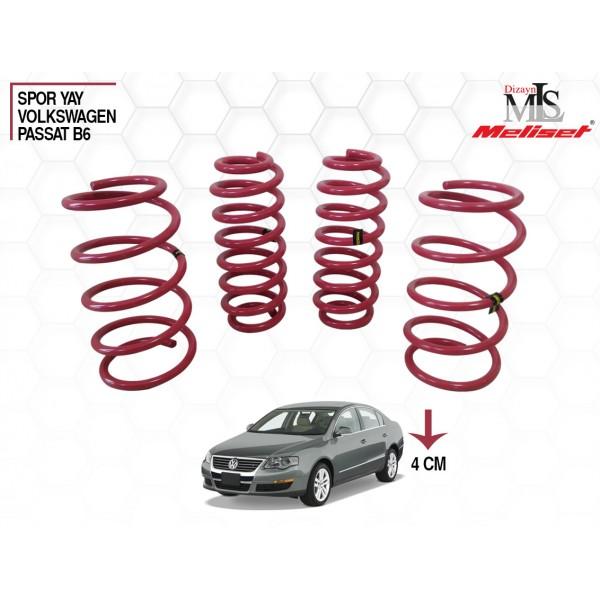 Volkswagen Passat B6 Spor Yay Helezon 40mm İndirme 2005-2010 Yılları arasına uyumlu