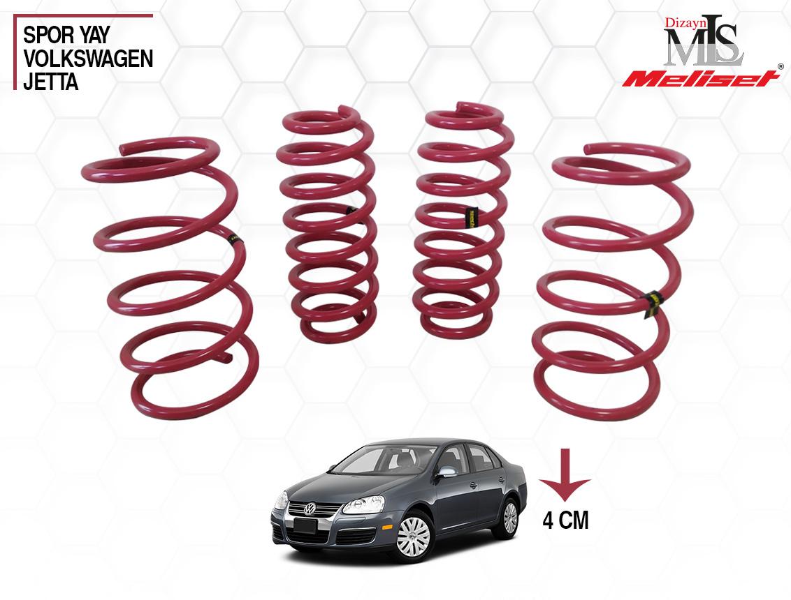 Volkswagen Jetta Spor Yay Helezon 40mm İndirme 2005-2011