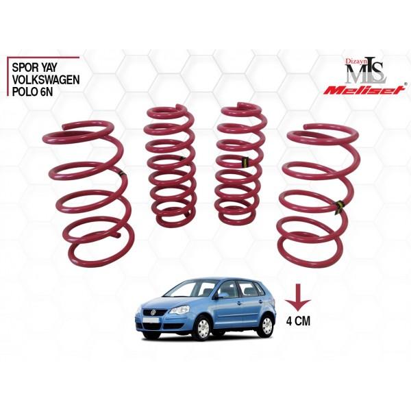 Volkswagen Polo 6N Spor Yay Helezon 40mm İndirme