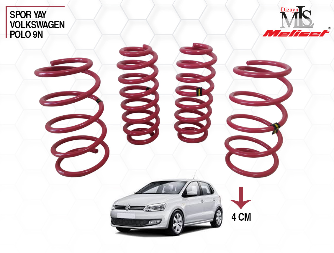 Volkswagen Polo 9N Spor Yay Helezon 40mm İndirme