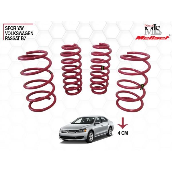 Volkswagen Passat B7 Spor Yay Helezon 40mm İndirme 2010-2014 Yılları Arasına Uyumlu