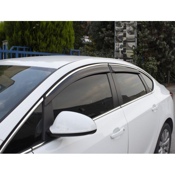 Hyundai Accent Blue Kromlu Cam Rüzgarlığı 2012 ve Sonrası