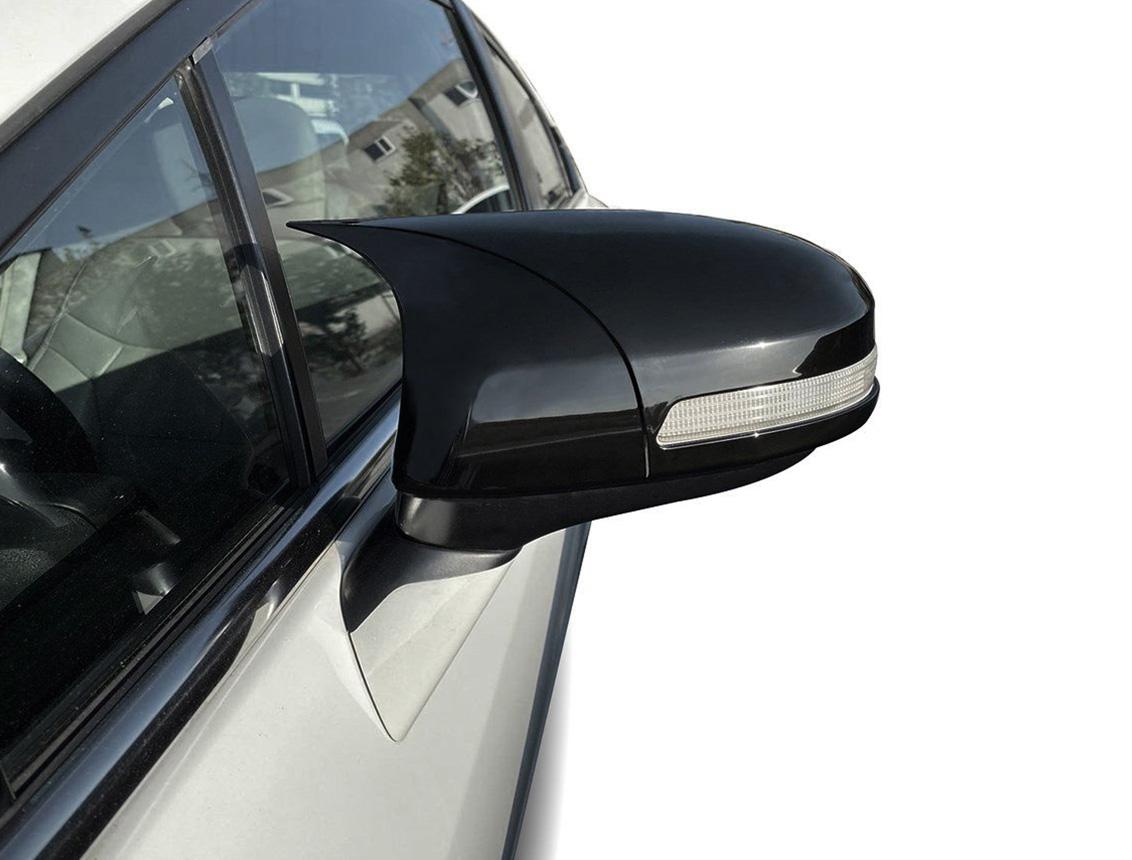 Honda Civic FB7 Yarasa Ayna Kapağı Piano Black