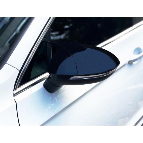 VW Passat B8 Yarasa Ayna Kapağı Piano Black