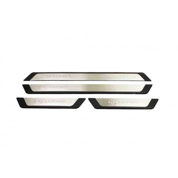 Kia Picanto Kapı Eşiği (Exclusive) 4 Prç.P.Çelik Flexill 2011 ve Sonrası