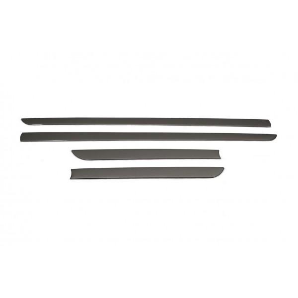 Universal Yan Kapı Çıtası 4 Prç.P.Çelik Siyah HB/5D/3D/SD/SW